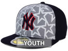 New York Yankees New Era 2016 MLB Kids AC Stars & Stripes 59FIFTY Cap Fitted Hats