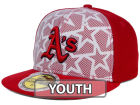 Oakland Athletics New Era 2016 MLB Kids AC Stars & Stripes 59FIFTY Cap Fitted Hats
