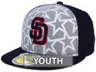 San Diego Padres New Era 2016 MLB Kids AC Stars & Stripes 59FIFTY Cap Fitted Hats
