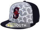 Seattle Mariners New Era 2016 MLB Kids AC Stars & Stripes 59FIFTY Cap Fitted Hats