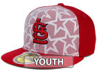 St. Louis Cardinals New Era 2016 MLB Kids AC Stars & Stripes 59FIFTY Cap Fitted Hats