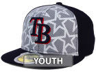Tampa Bay Rays New Era 2016 MLB Kids AC Stars & Stripes 59FIFTY Cap Fitted Hats
