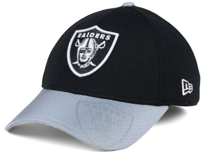 Oakland Raiders 2016 Official NFL Sideline 39THIRTY Cap Hats