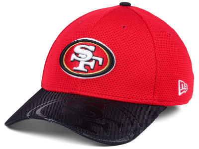 San Francisco 49ers 2016 Official NFL Sideline 39THIRTY Cap Hats