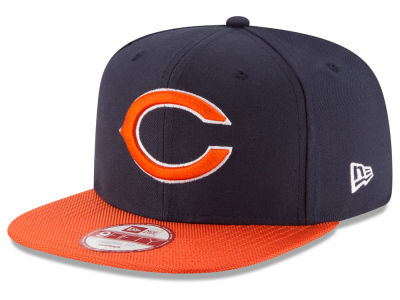 Chicago Bears 2016 Official NFL Sideline 9FIFTY Original Fit Cap Hats