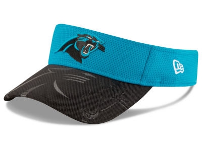 Carolina Panthers 2016 Official NFL Sideline Visor Hats