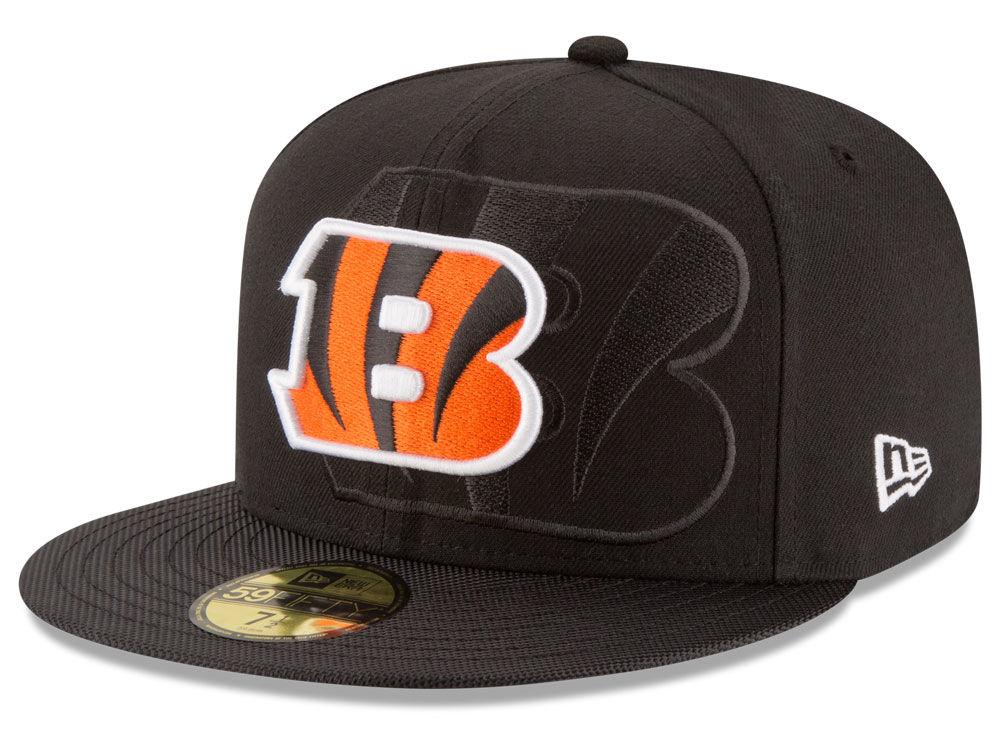 best service d5078 6e7c2 70%OFF Cincinnati Bengals New Era 2016 Official NFL Sideline 59FIFTY Cap -  cuuladh.ie