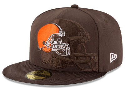 Cleveland Browns 2016 Official NFL Sideline 59FIFTY Cap Hats