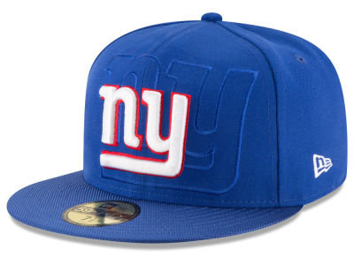 New York Giants 2016 Official NFL Sideline 59FIFTY Cap Hats