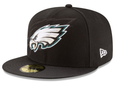Philadelphia Eagles 2016 Official NFL Sideline 59FIFTY Cap Hats