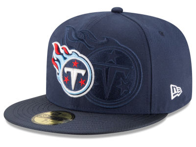 Tennessee Titans 2016 Official NFL Sideline 59FIFTY Cap Hats