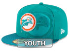 Miami Dolphins New Era 2016 Official NFL Sideline 59FIFTY Cap Fitted Hats