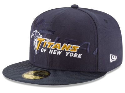 New York Titans 2016 Official NFL Sideline 59FIFTY Cap Hats