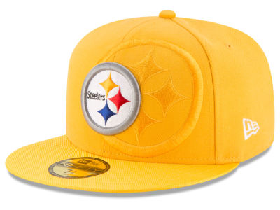 Pittsburgh Steelers 2016 Official NFL Sideline 59FIFTY Cap Hats