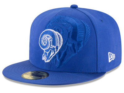Los Angeles Rams 2016 Official NFL Sideline 59FIFTY Cap Hats