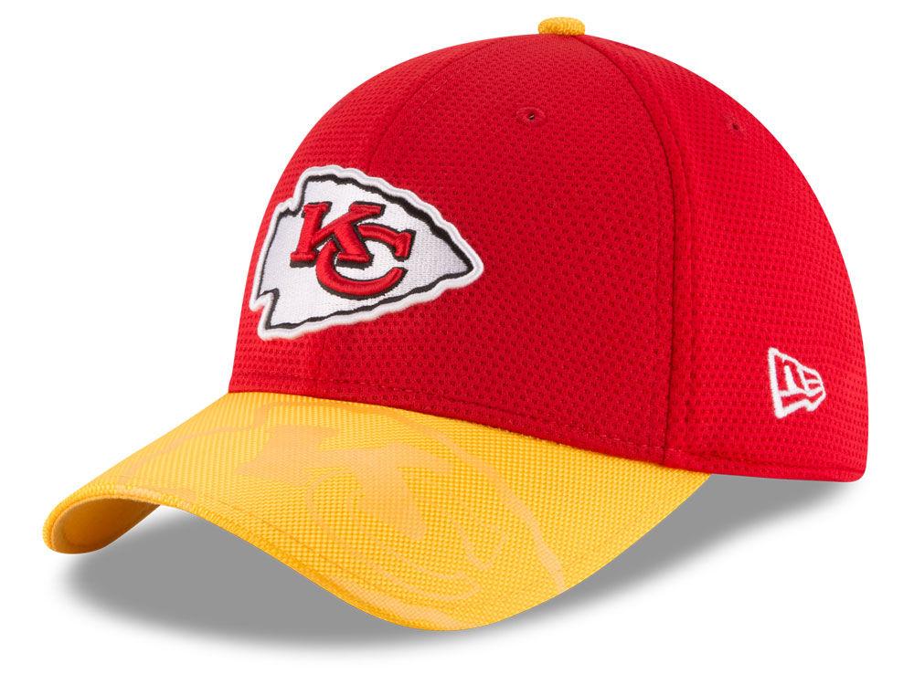 Kansas City Chiefs New Era 2016 Kids Official NFL Sideline 39THIRTY Cap  chic http   lf.lids.com hwl set sku 20841744  fde2d7ad2fe