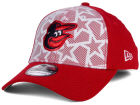 Baltimore Orioles New Era 2016 MLB AC Stars & Stripes 39THIRTY Cap Stretch Fitted Hats