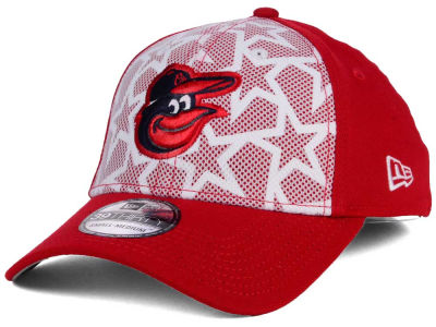 Baltimore Orioles 2016 MLB AC Stars & Stripes 39THIRTY Cap Hats