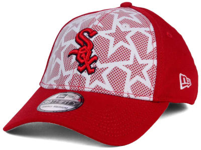 Chicago White Sox 2016 MLB AC Stars & Stripes 39THIRTY Cap Hats