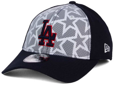 Los Angeles Dodgers 2016 MLB AC Stars & Stripes 39THIRTY Cap Hats