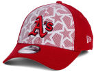 Oakland Athletics New Era 2016 MLB AC Stars & Stripes 39THIRTY Cap Stretch Fitted Hats