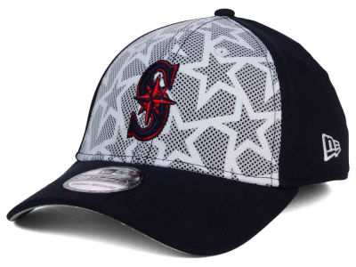 Seattle Mariners 2016 MLB AC Stars & Stripes 39THIRTY Cap Hats
