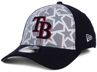 Tampa Bay Rays 2016 MLB AC Stars & Stripes 39THIRTY Cap Hats
