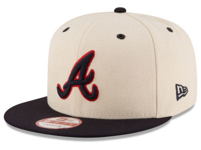 Atlanta Braves MLB Inlinen Color 9FIFTY Snapback Cap Hats