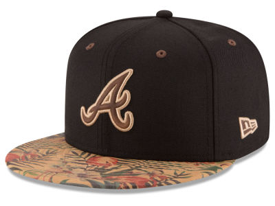 Atlanta Braves MLB Smoove Trop 59FIFTY Cap Hats