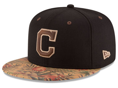 Cleveland Indians MLB Smoove Trop 59FIFTY Cap Hats