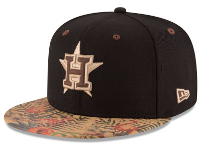 Houston Astros MLB Smoove Trop 59FIFTY Cap Hats