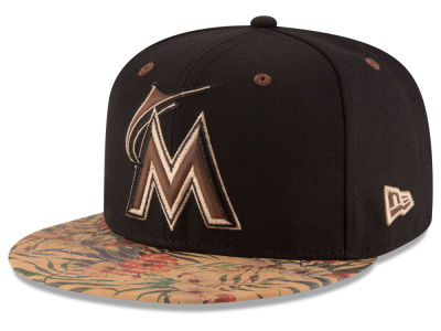 Miami Marlins MLB Smoove Trop 59FIFTY Cap Hats