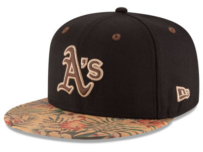 Oakland Athletics MLB Smoove Trop 59FIFTY Cap Hats