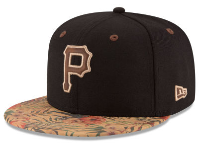 Pittsburgh Pirates MLB Smoove Trop 59FIFTY Cap Hats