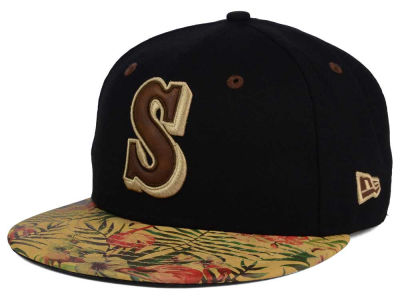 Seattle Mariners MLB Smoove Trop 59FIFTY Cap Hats