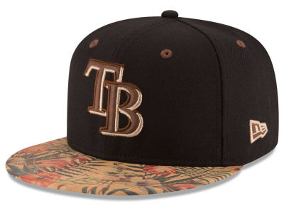 Tampa Bay Rays MLB Smoove Trop 59FIFTY Cap Hats