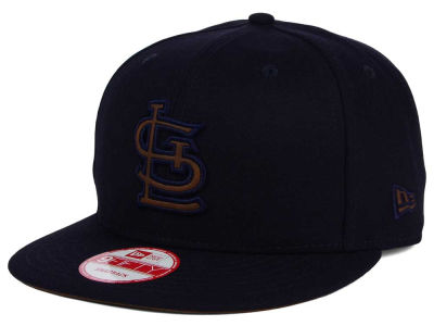 St. Louis Cardinals MLB Smoove Leather Logo 9FIFTY Snapback Cap Hats