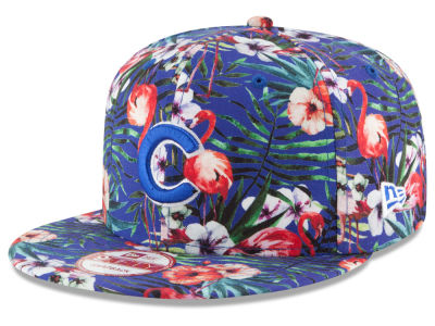 Chicago Cubs MLB Troppin Hot 9FIFTY Snapback Cap Hats