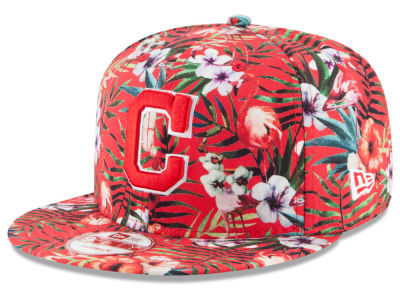 Cleveland Indians MLB Troppin Hot 9FIFTY Snapback Cap Hats