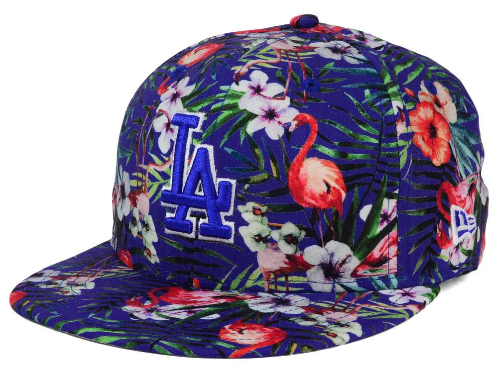official photos 2cb0c 7bb42 ... reduced on sale los angeles dodgers new era mlb troppin hot 9fifty  snapback cap c410a 0533f