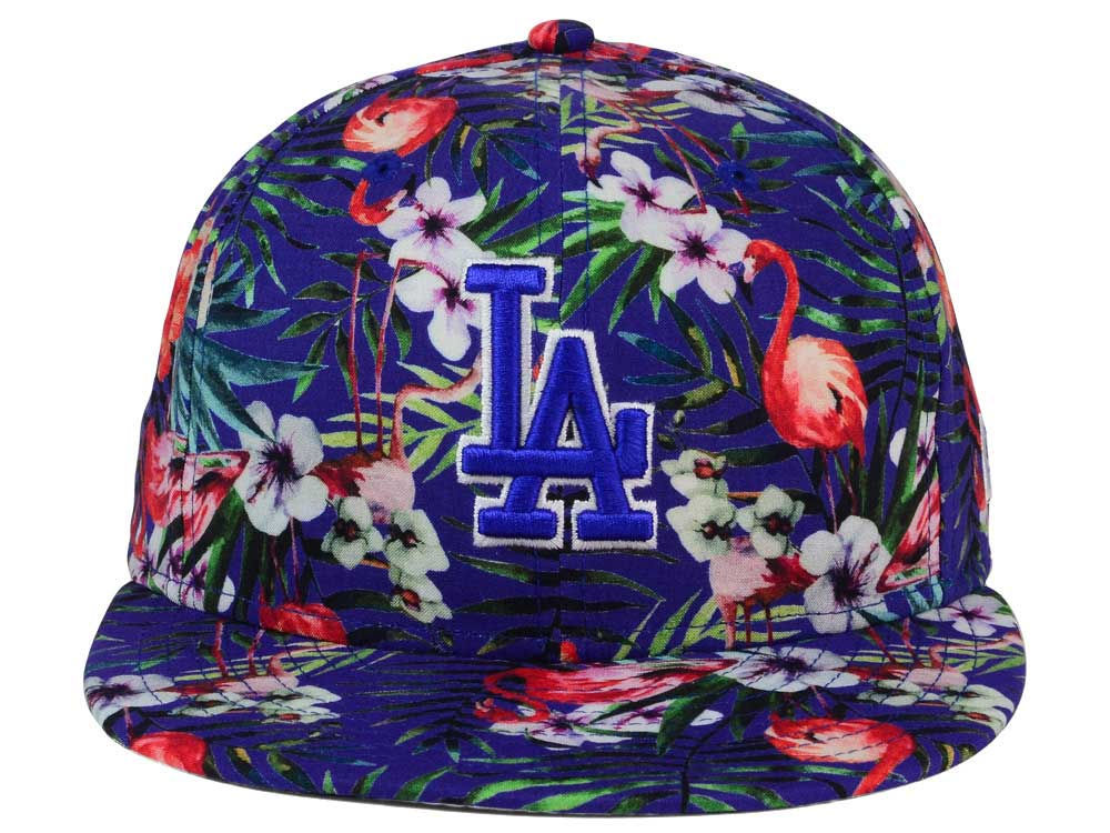 official photos 94e9f 344dd ... reduced on sale los angeles dodgers new era mlb troppin hot 9fifty  snapback cap c410a 0533f