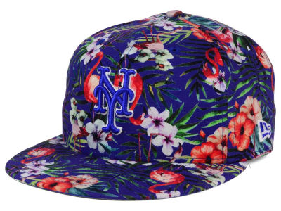 New York Mets MLB Troppin Hot 9FIFTY Snapback Cap Hats