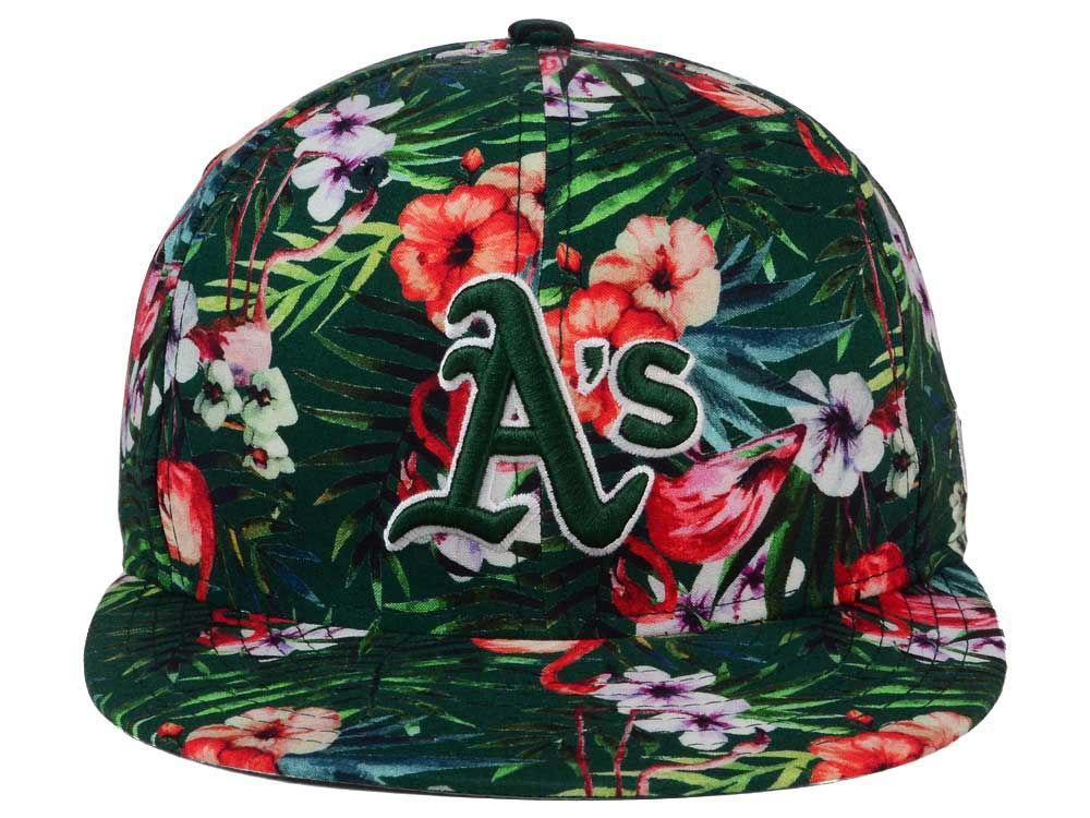 hot sale online 0cc44 80b76 70%OFF Oakland Athletics New Era MLB Troppin Hot 9FIFTY Snapback Cap