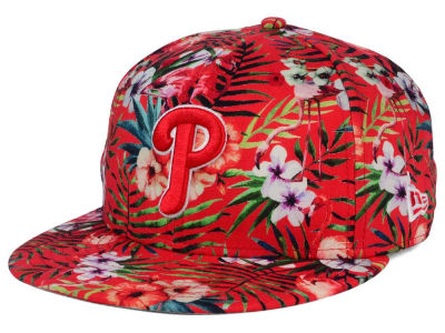 Philadelphia Phillies MLB Troppin Hot 9FIFTY Snapback Cap Hats