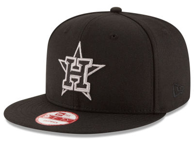 Houston Astros MLB Black Diamond 9FIFTY Snapback Cap Hats