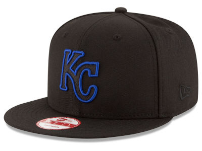 Kansas City Royals MLB Black Diamond 9FIFTY Snapback Cap Hats