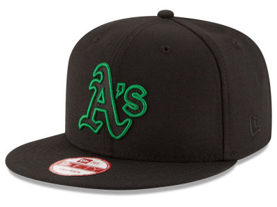 Oakland Athletics MLB Black Diamond 9FIFTY Snapback Cap Hats