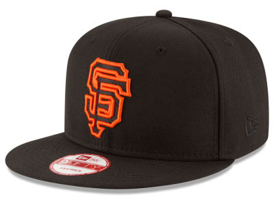 San Francisco Giants MLB Black Diamond 9FIFTY Snapback Cap Hats
