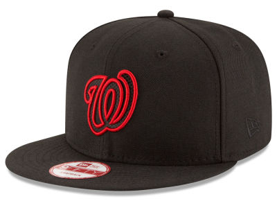 Washington Nationals MLB Black Diamond 9FIFTY Snapback Cap Hats