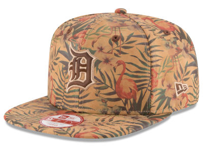 Detroit Tigers MLB Vintage Trop 9FIFTY Snapback Cap Hats